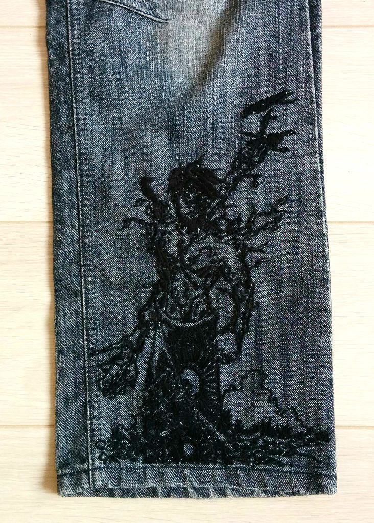 ETO Trousers upgrade (embroidery detail)